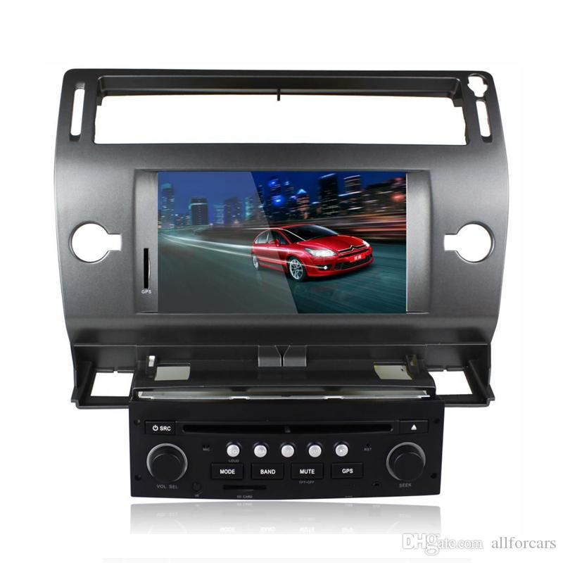 2017 autoradio citroen c4 car dvd player gps navigation bluetooth auto radio ipod rds swc 2004. Black Bedroom Furniture Sets. Home Design Ideas