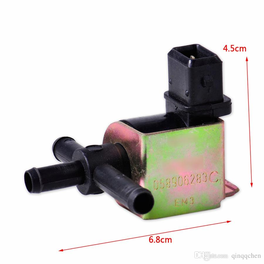 Turbocharging Solenoid Regulator The Electromagnetic Valve Change Over Valve for VW Golf GTI Passat B5 Audi A4 A6 TT 058 906 283 C/E/F