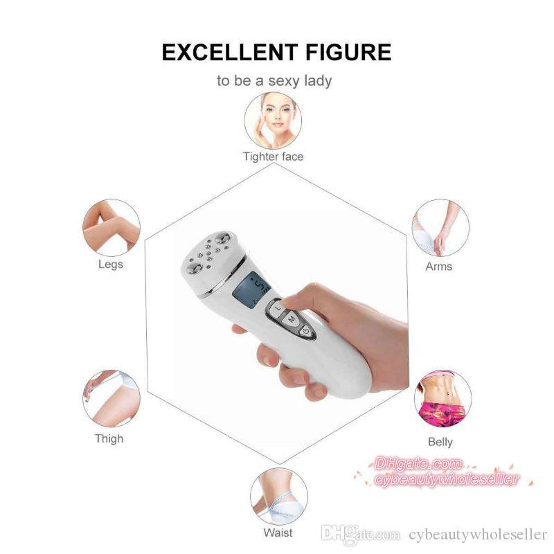 2017 новые светодиодные thearpy EMS радиочастота РФ красоты машина для ухода за кожей лица тела для похудения DHL бесплатная доставка