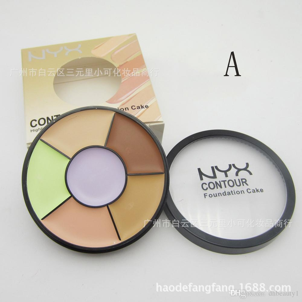 NYX Concealer Make-up NYX 6 Farbkontur Cremiger Mineral Concealer gepresster Pudergrundlage vs Pro Concealer