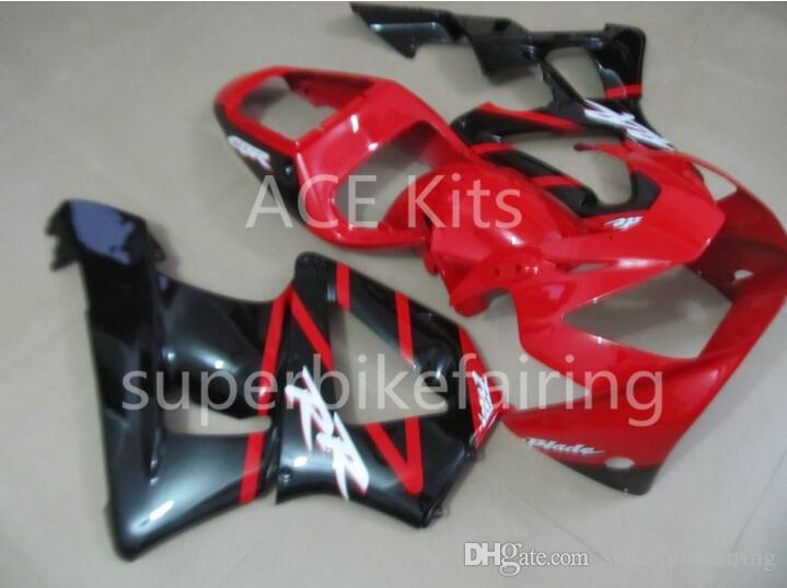 3 free gifts Motorcycle Fairing kit For HONDA CBR900RR 00 01 CBR 900RR 929 2000 2001 ABS Fairings set Black Red AS13
