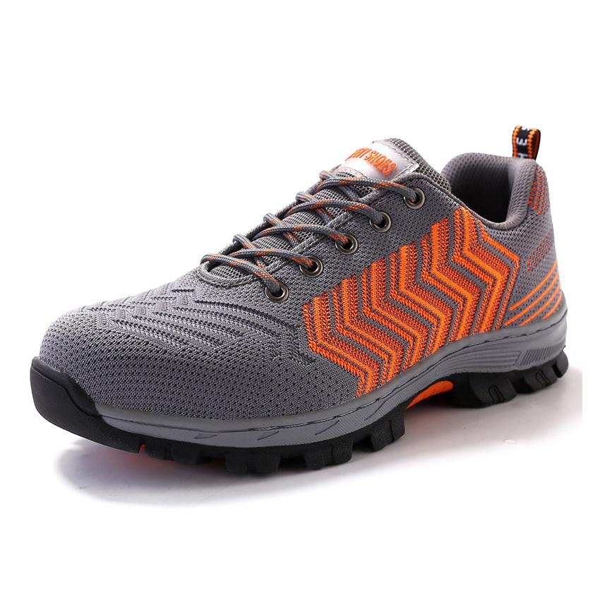 Air Mesh Men Work Safety Shoes Steel Toe Cap Puncture Proof Durable  Breathable Protective Footwear Man Casual Shoes Brown Shoes Formal Shoes  For Men From ... e69023666056