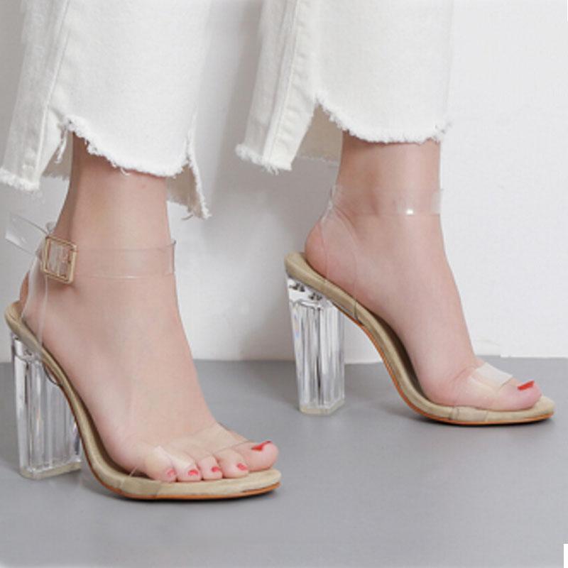 890cd6f0498 Clear High Heels - Ha Heel
