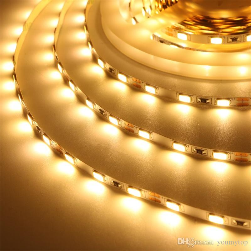 Новое Прибытие 5630 Светодиодная полоса Света 60LED / M Необеспеченные 12V Декор Светодиодные Лампы Лента Освещение Строка светло Ярко 3528 5050 2835 3014