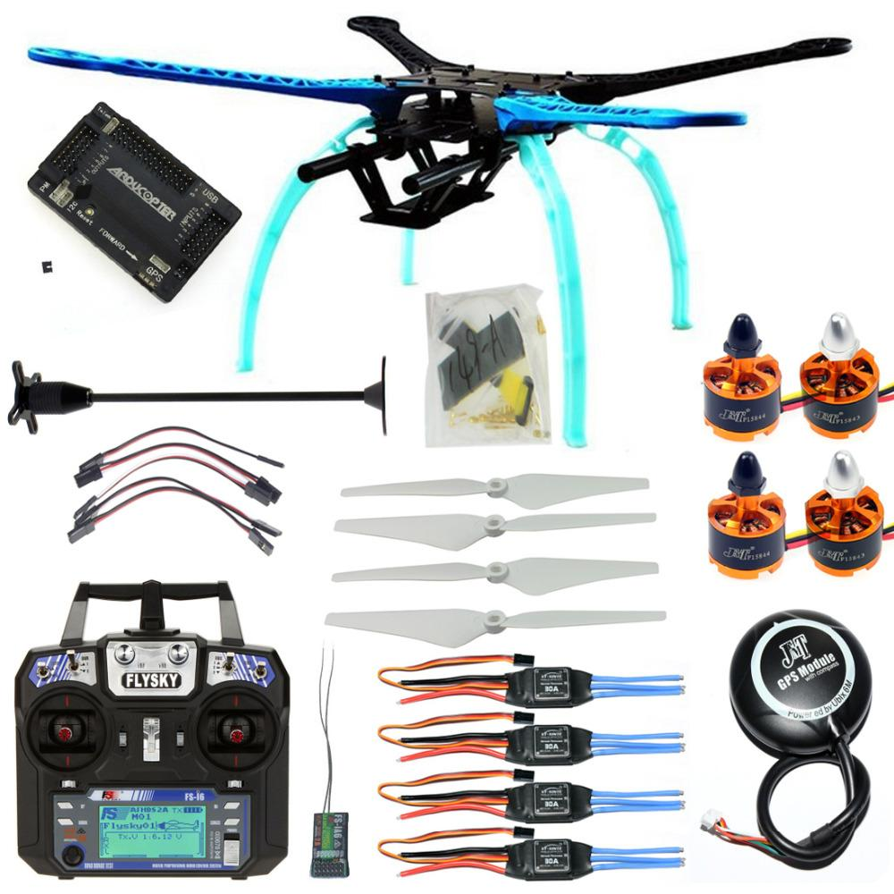 Compre F08151 M Rc Drone Quadrocopter Kit De Aviones De 4 Ejes 500mm ...