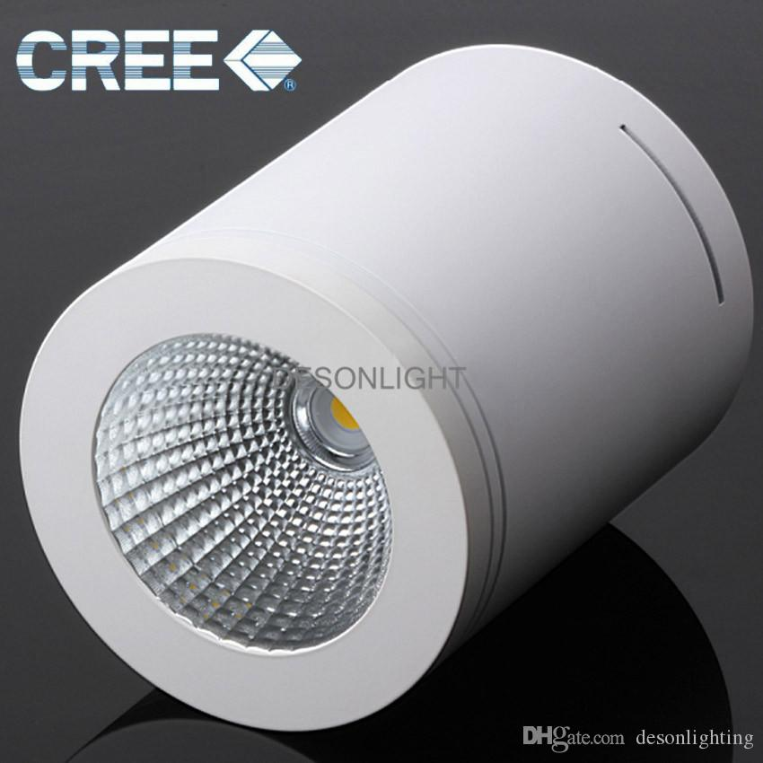 2018 cree surface mounted led ceiling light dimmable led downlight 2018 cree surface mounted led ceiling light dimmable led downlight cob led plafon spotlight ceiling spot light ip44 12w flush mount ceiling lamp from aloadofball Image collections