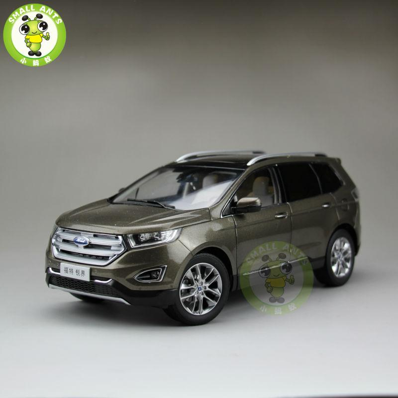 Scale China Ford Edge Diecast Suv Car Model Toys For