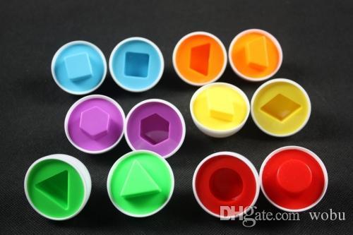 Temel 6 yumurta / set Öğrenme Eğitim oyuncaklar Karışık Şekil Bilge Pretend Bulmaca Akıllı Bebek Çocuk Aracı Oyuncaklar Çocuklar Için En Düşük Fiyat