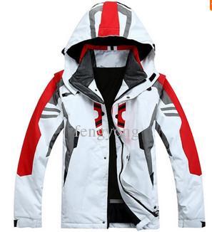 Yüksek kaliteli açık spor kayak ceket erkekler kayak takım rüzgar geçirmez su geçirmez kayak giyim