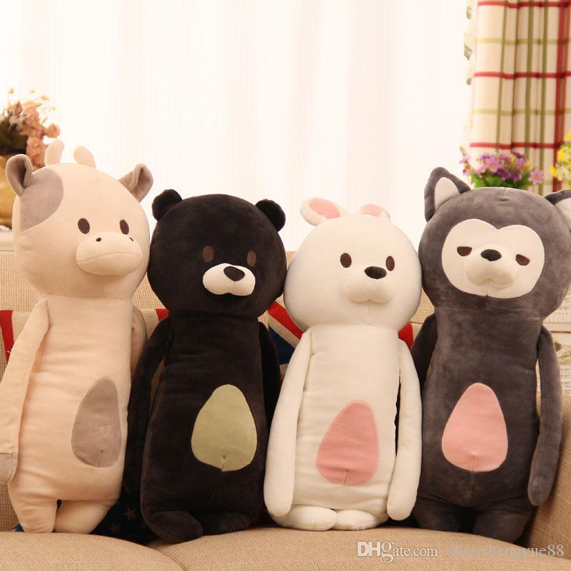 new brand soft spacewadding fox doll cute bolster sweet child stuffed toys kids dolls No.140