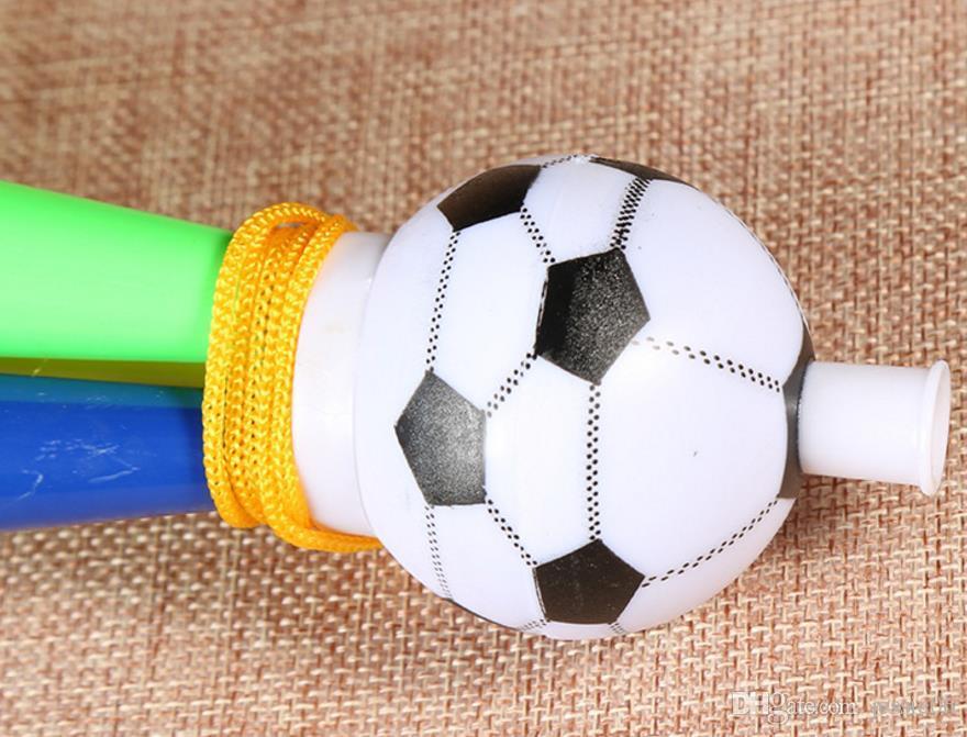 Cheer Horn Hand Held Football Evento Deportivo Equipo Supporter Loud Party Conciertos de Carnaval Noise Maker festive Props favorece el regalo