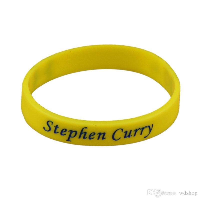 Stephen Curry Signature Bracelets Sports Silicone Bracelet Personalized Bracelet Gym Fitness Elastic Bracelets For Fans
