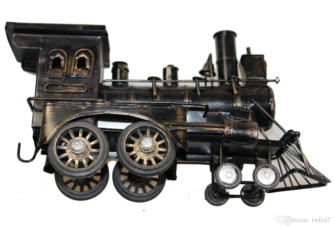 2018 Generic Iron Black Vintage Style Old Train Model Home ...