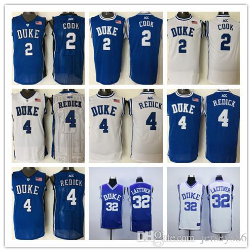 c6a53fae50c2 ... low cost 2018 cheap duke blue devils 4 jj redick 2 quinn cook college  basketball jerseys