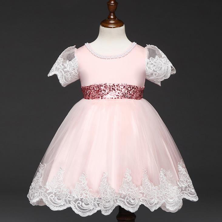 d0eba73ffccb New Fashion Party Birthday Wedding Princess Toddler Baby Girls ...