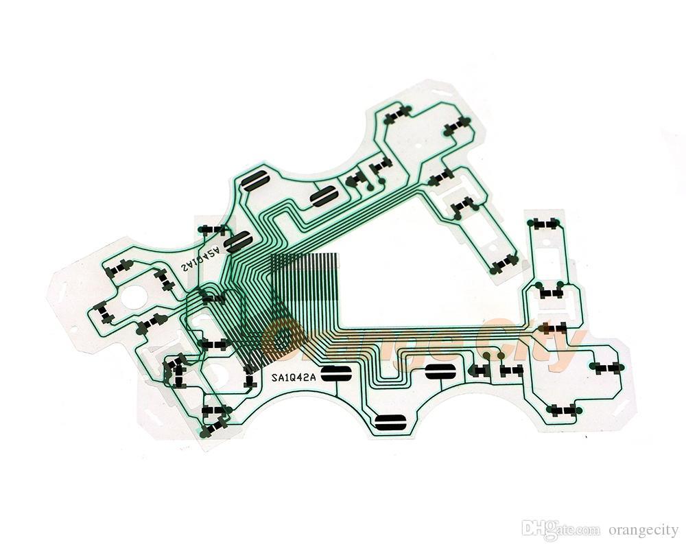 Sony Playstation 2 PS2 Denetleyicisi Için promosyonlar SA1Q42A İletken Film İletken Film Şerit Tuş SA1Q42 Flex Kablo