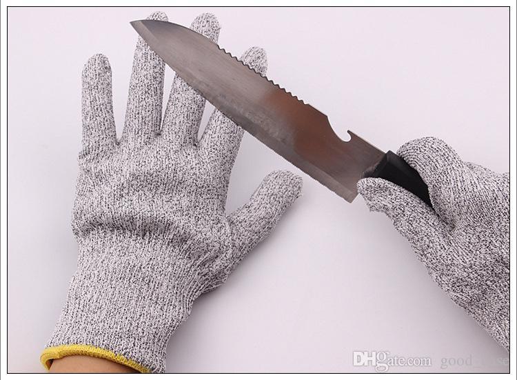 قفازات مقاومة للقطع القفازات المطبخ مع الغذاء الصف المستوى 5 السلامة حماية اليد خفيفة الوزن العمل قفازات هدايا عيد الميلاد لربة منزل الساخنة