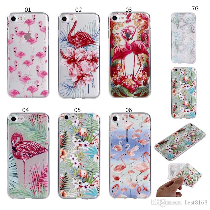 coque iphone x flamingo