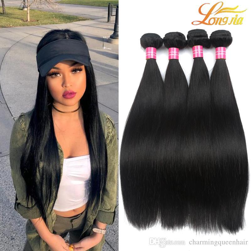 8 26inch Brazilian Straight Hair Weaves 3bundles Brazilian Human ...