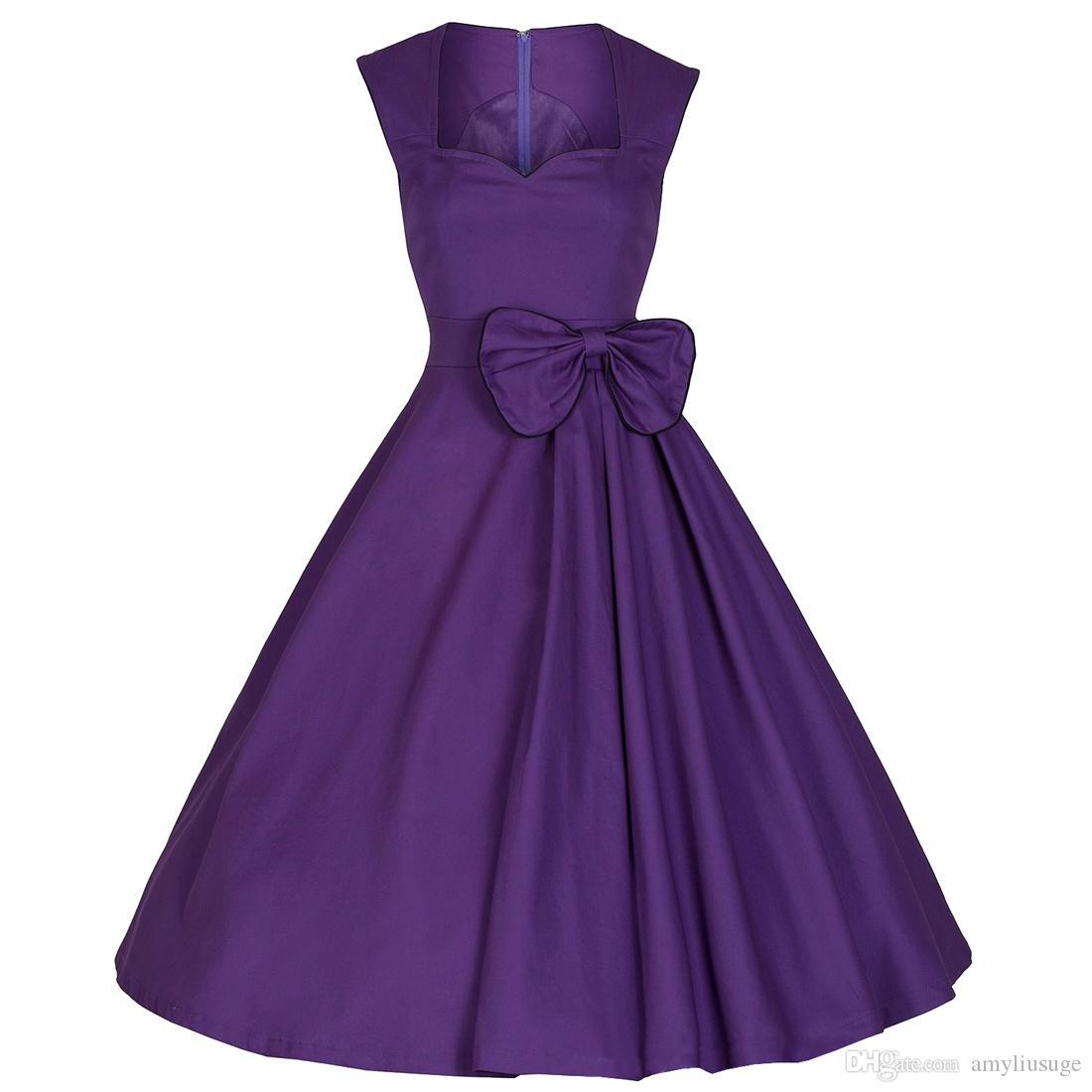 Compre Envío Gratis Vintage 1940s 50 S Shirtwaist Vestido Acampanado ...