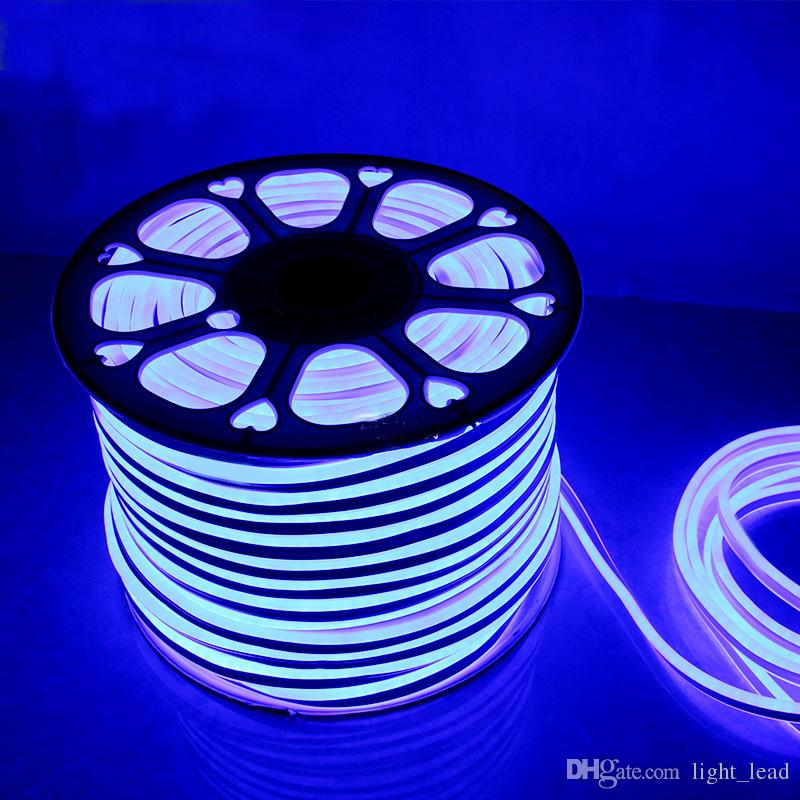 LED Neon Luz Flexível 12 V 2835 SMD 120LED Neon Ultra Brilhante Para Decoração Sinal Personalizado DIY Levou Sinal de Publicidade Neon Flex