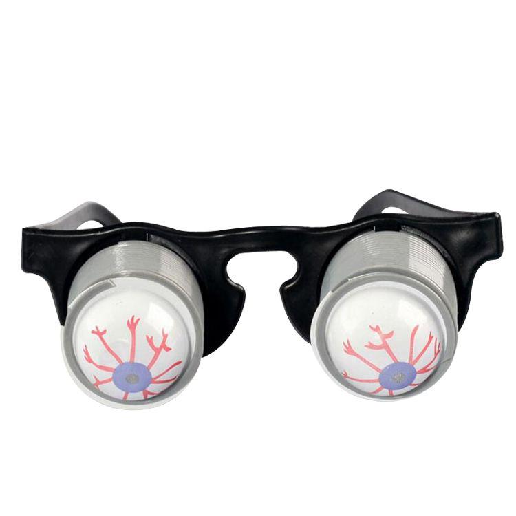 freaky engraçado globo ocular para o dia da mentira de abril mascarada