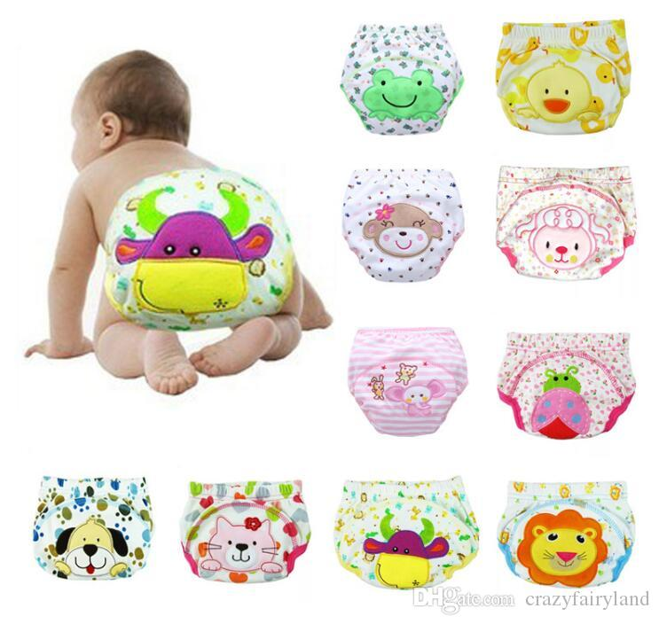 Best Animal Lion Frog Baby Diapers Reusable Nappies Cloth Diaper