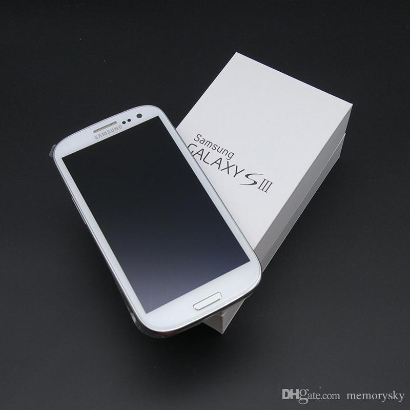 Original para Samsung Galaxy S3 i9300 3G GSM de cuádruple núcleo de 1 GB Ram Rom 16 GB 4,8 pulgadas teléfono 8MP abrió Reformado