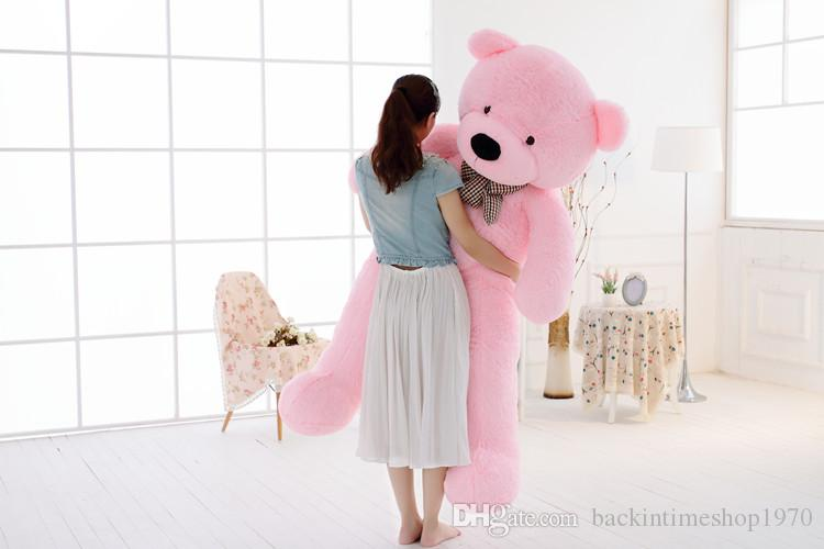 180cm Giant teddy bear big stuffed animals plush toys brinquedos lowest price for girls valentine gift