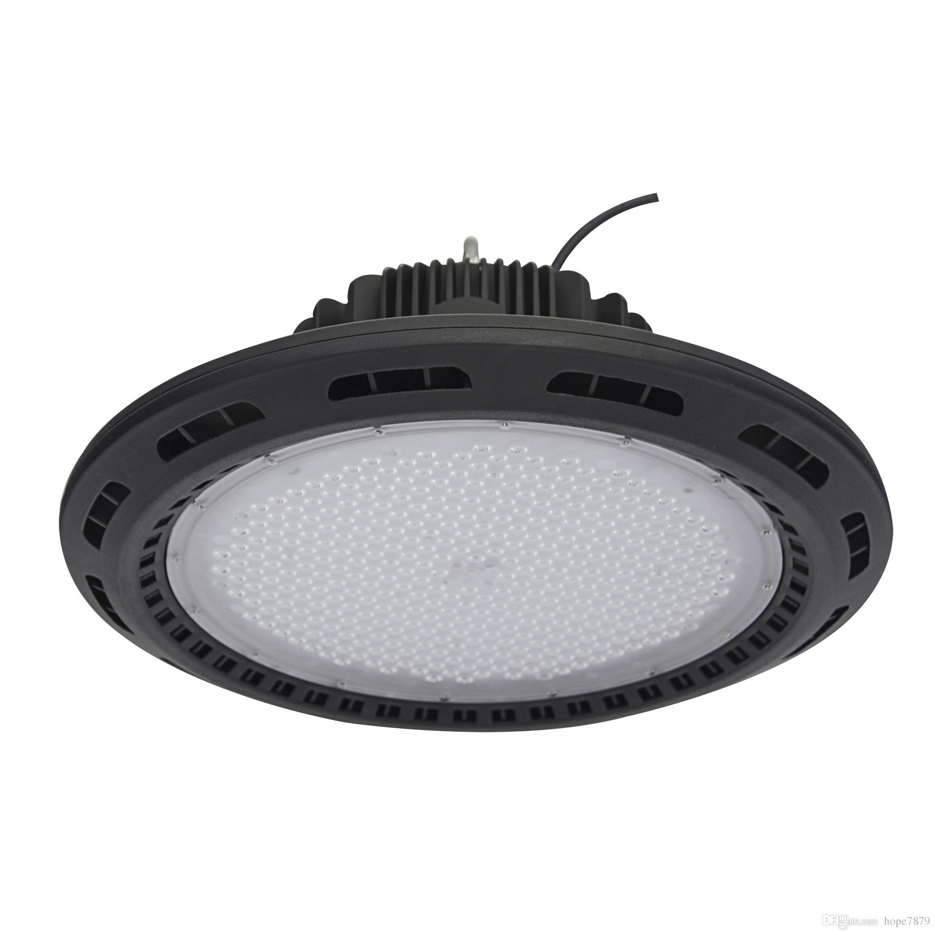 100W 160W 240W UFO outdoor security warehouse led lighting high bay led replacement bulb SMD3030 chip Meanwell driver 5years warranty