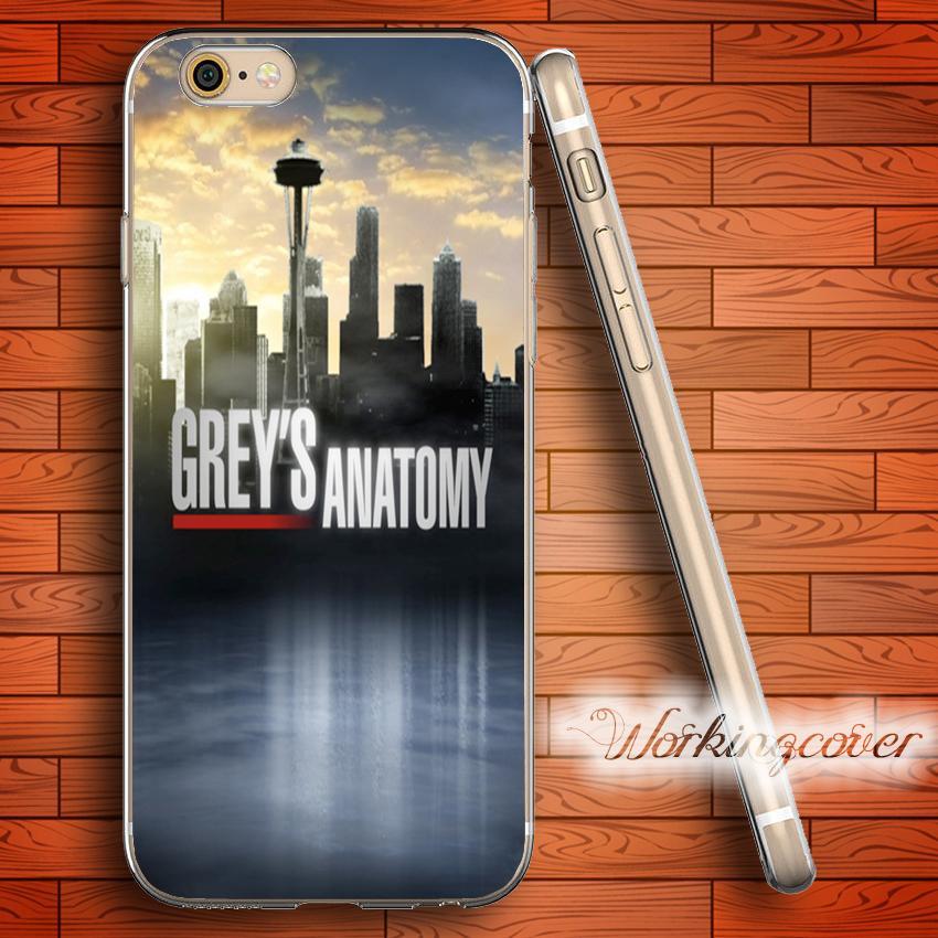 Capa Grays Анатомия Мягкий прозрачный чехол для iPhone 4 6S 7 Plus 5S SE 5  5C 4S 4 Чехол для силикона. 3cfbd1fbc2900