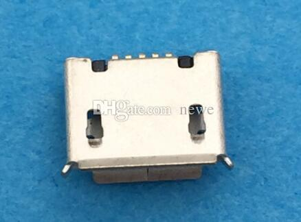 New Micro USB 5pin B type Female Connector For Mobile Phone Micro USB Jack Connector 5 pin Charging Socket