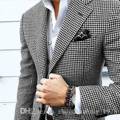 2017 Sell Like Hot Cakes! 2017 Mens Checkered Suit,Houndstooth ...
