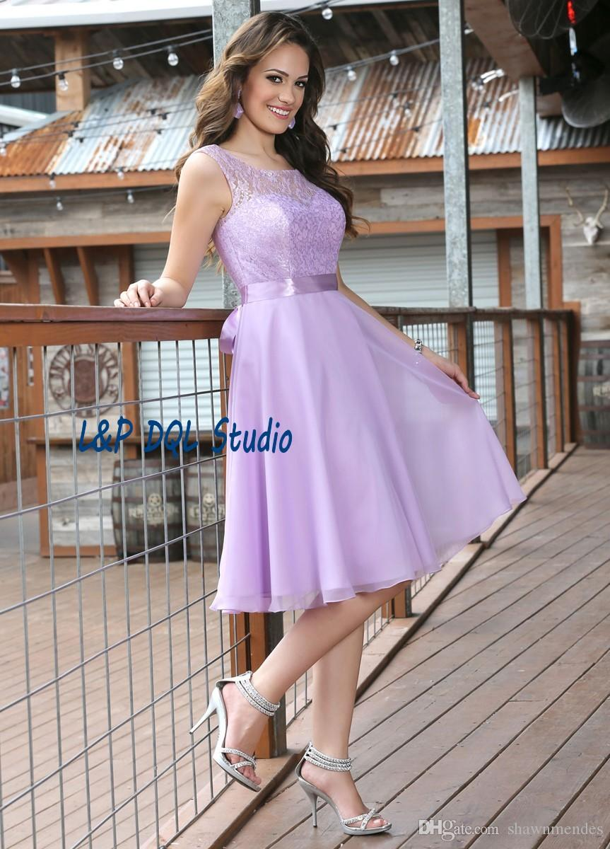 Lilac bridesmaid dresses lace wedding party dresses scoop zipper lilac bridesmaid dresses lace wedding party dresses scoop zipper back chiffon with lace bridesmaid dresses cheap summer beach party gowns bridesmaid dresses ombrellifo Images