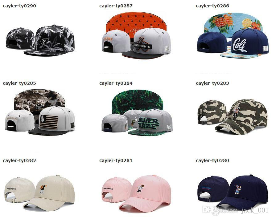 Wholesale CAYLER & SONS baseball caps snapback hats ball caps Team Snapback Caps 9 Fifty fitted hats Sports