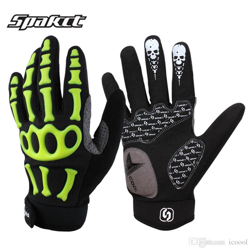 Wholesale New Bike Cycling Gloves Full Finger Men Downhill Road Mtb