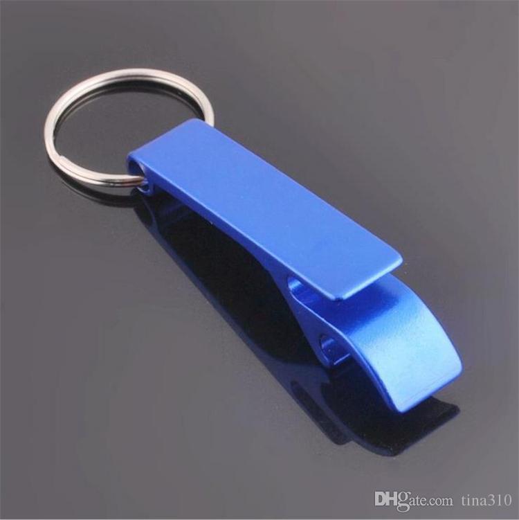 Новый металлический алюминиевый сплав брелок брелок кольцо с пивной бутылкой открывалка пользовательские персонализированные, лазерная гравировка для бесплатных открывалок