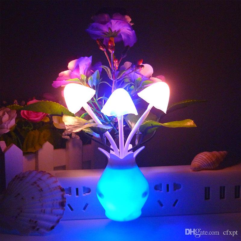 2018 Led Small Night Light Flower Grass Clove Energy Saving Small ...