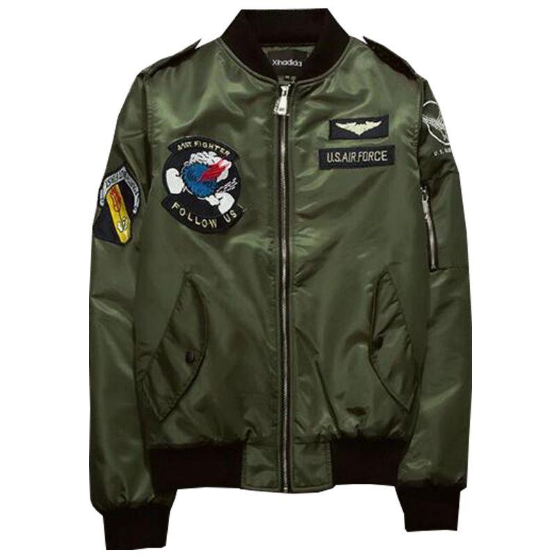Wholesale Ma1 Bomber Jacket Men 2017 Us Air Force Pilot Jacket ...