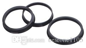 57.1-56.1mm 20pcs Black Plastic Wheel Hub Centric Ring Custom Size Available Wheel Rim Parts Accessories Wholesale Free Shipping