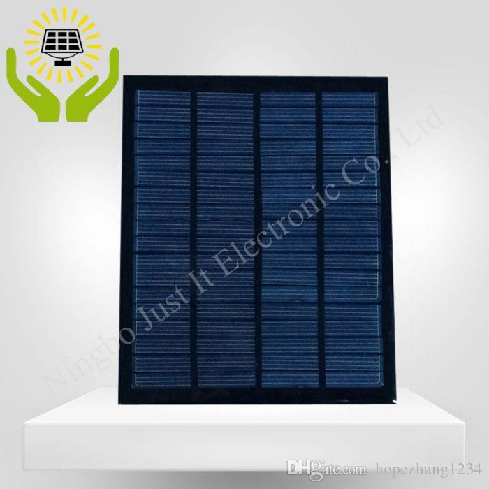 / راتنجات الايبوكسي الصغيرة لوحة للطاقة الشمسية 18V 2W 120 * 150mm