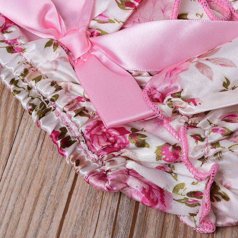 Baby Girl roupas conjuntos infantils romper + shorts florais e leggings headband jogo eu encontrei minha princesa seu nome é papai m3443 k041