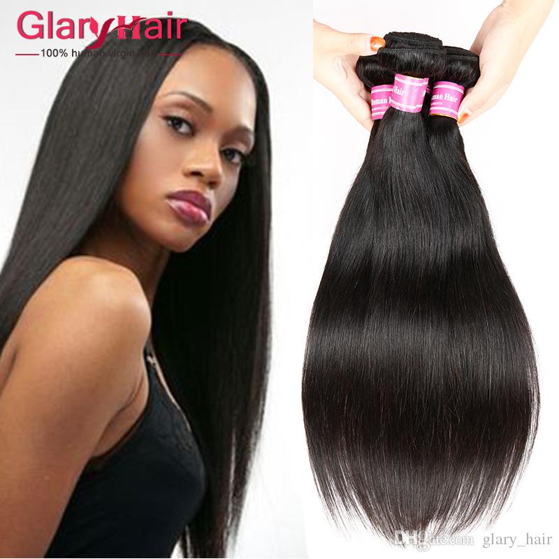 Top Quality Unprocessed Human Hair Extensions Straight Virgin Hair