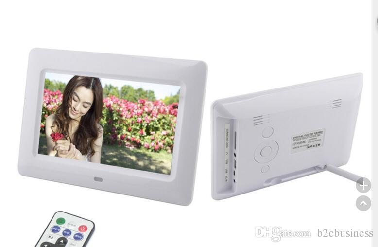 2018 7 Inch TFT LCD Multi Function Wide Screen Desktop Digital Photo ...