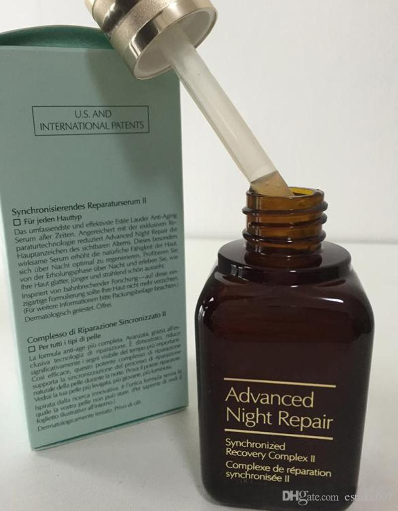 Famosa Marca hidratante clareamento Anti-envelhecimento creme para o rosto cuidados com a pele Advanced Night Repaire Syncronized Recuperação Reparação 50 ml dhl