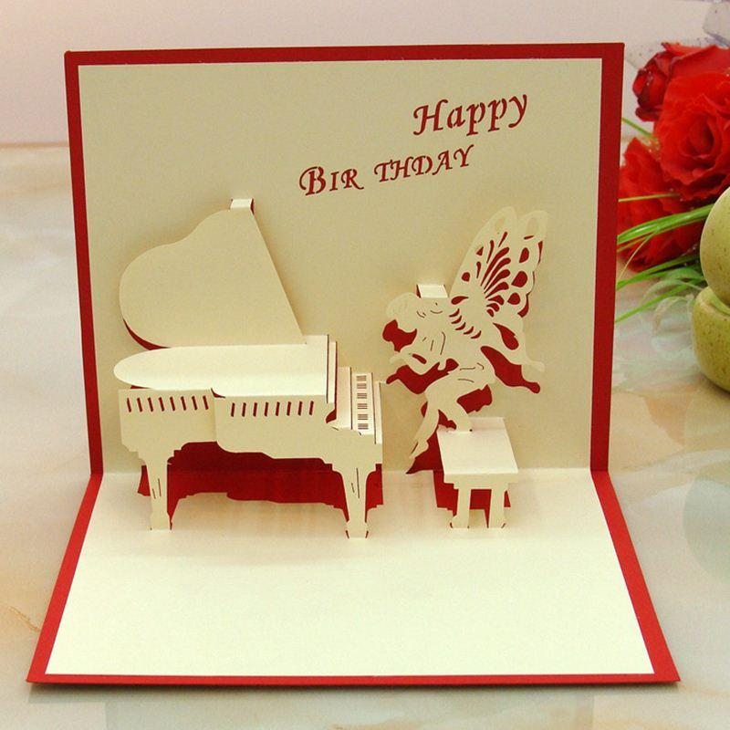 Piano angle 3d folding pop birthday card girl boy birthday greeting piano angle 3d folding pop birthday card girl boy birthday greeting cards children birthday party invitation postcard gift blank greeting cards boxed bookmarktalkfo Image collections