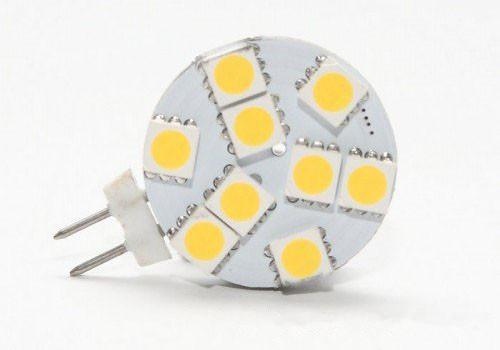 Led styling lighting G4 Round Bulb for Boat /Automotive 9 LEDs White Warm White 5050 SMD 9 LED Marine Camper Car Bulb Lamp 12V