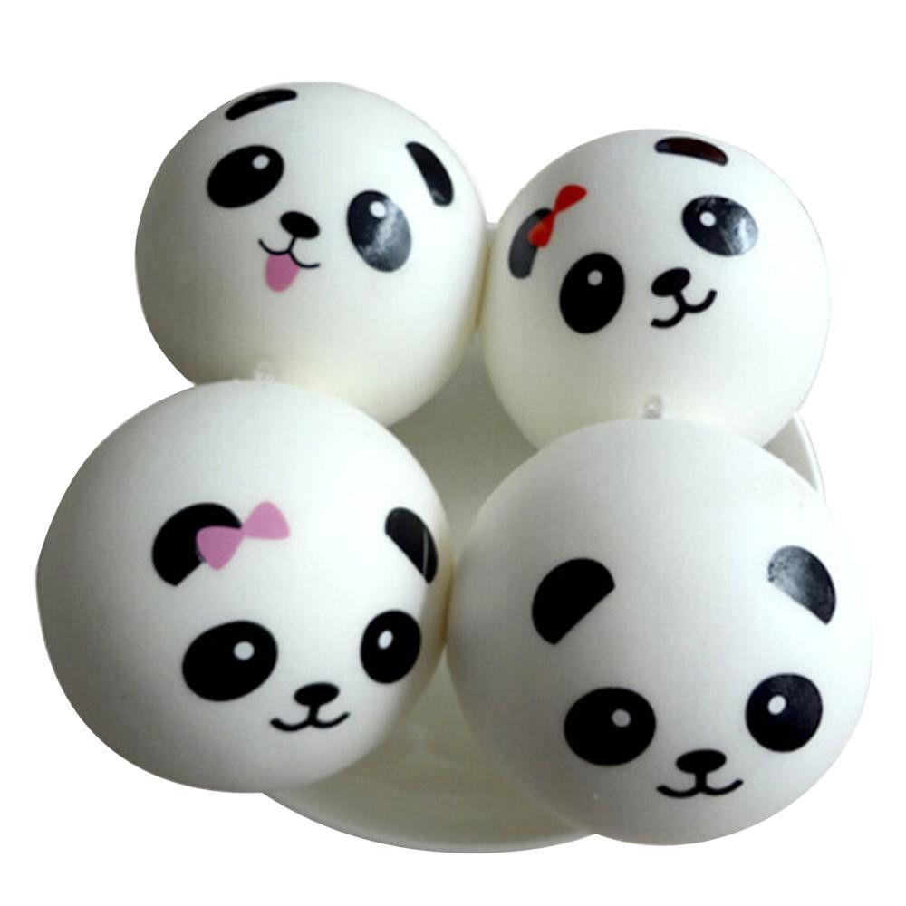 Hot 10 cm Panda Squishy Charms Kawaii Buns Bread Cell Phone Key Bag Correa Colgante Squishes