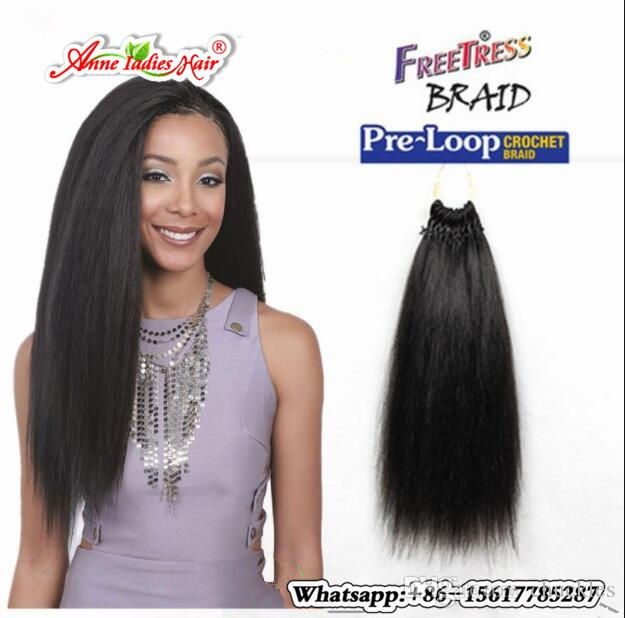 Hot Sell 1pack Hot Style Kinky Straight Hair Extension Freetress