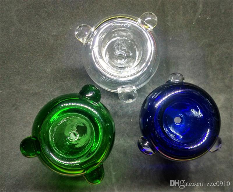 Ciotola in vetro da 14 mm o 18 mm gorgogliatore in vetro e ciotola ciotole in vetro